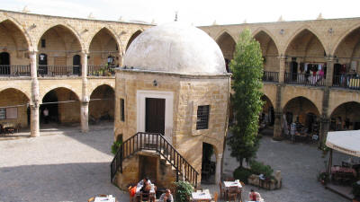 The Masjid at the Buyuk Han (Great Inn), Nicosia, North Cyprus