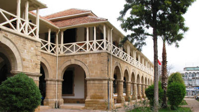 The law courts building, Nicosia, North Cyprus