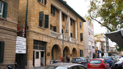 The Post Office building, Nicosia, North Cyprus