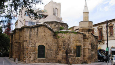 Arablar mosque (church of Stravos to Missirikou), Nicosia, Cyprus
