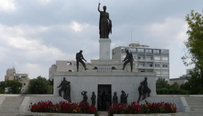 The Liberty Monument, Nicosia, South Cyprus