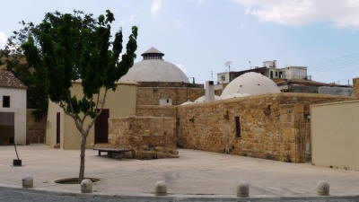 The Omeriye Turkish Baths in Nicosia, South Cyprus