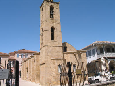 St John's cathedral, Nicosia, South Cyprus. Looking from the south