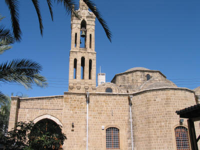 The church of Archangel Michael Trypiotis, Nicosia, South Cyprus