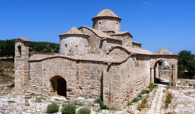 Panaya Kanakaria Church, North Cyprus