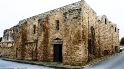 Exterior of the Pygmalion Sculpture Studio, Famagusta, North Cyprus
