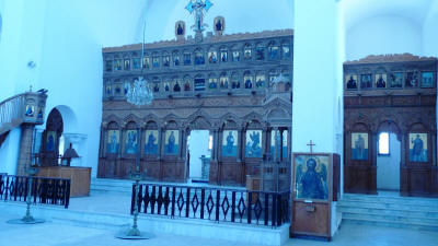 The Agios Ionassis Church and Icon Museum, Famagusta, North Cyprus