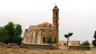 The church of Agios Charalambos, Kontea, Cyprus