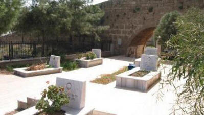 Graves on the Martinengo Bastion, Famagusta, North cyprus
