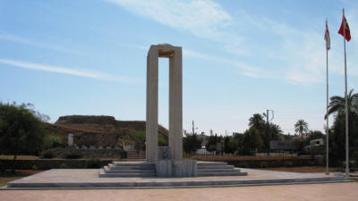 Martyrs' monument, Famagusta, North Cyprus