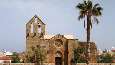 The Nestorian church of St george the Exiler, Famagusta