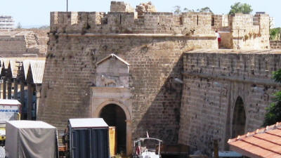 The Sea gate, or Porta del Mare, Famagusta, North Cyprus