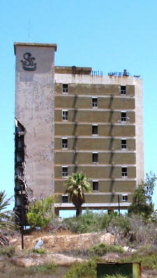 A crumbling hotel at Varosha, Famagusta, North Cyprus