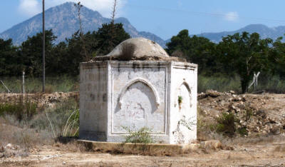 The well at the monastary of St Panteleimon