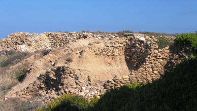 The settlement of Vrysi, near Kyrenia, North Cyprus