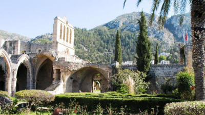 Bellapais Abbey, near Kyrenia, North Cyprus