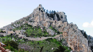 St Hilarion Castle, near Kyrenia, North Cyprus