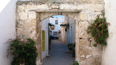A street in Kyrenia, North Cyprus