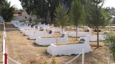 Martyrs' graves