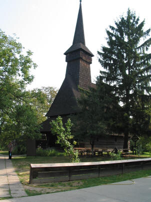 A 17th century wooden church