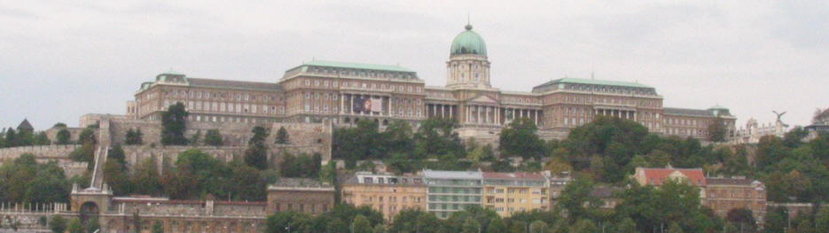 Budapest castle and Royal Palace