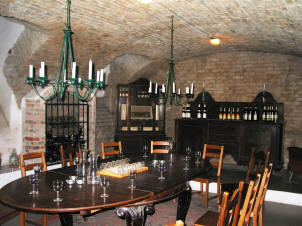 The cellar bar on the Gastro tour of Budapest