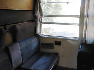 Turkis Railways sleeper compartment
