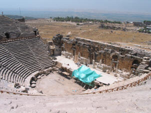 The theatre at Heiropolis